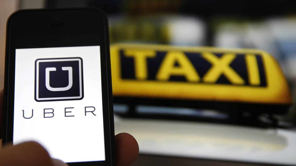 taxi y uber