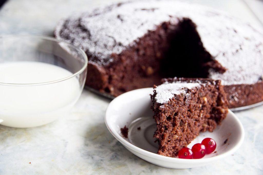 torta de zuchini y chocolate