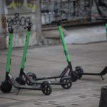 Robos de monopatines eléctricos