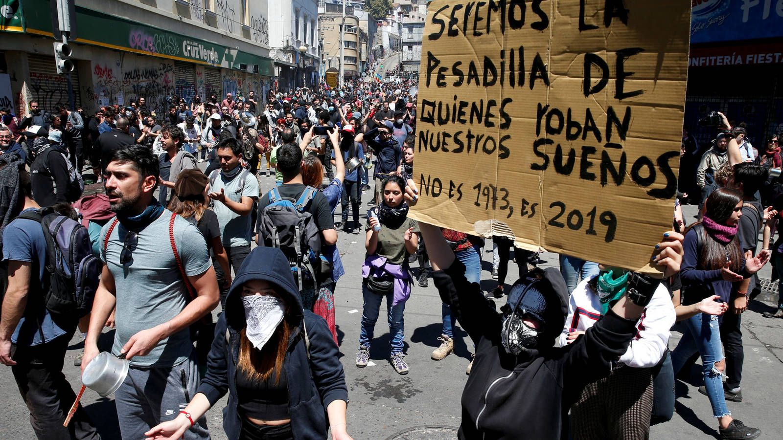 Graves denuncias sobre la represión en Chile