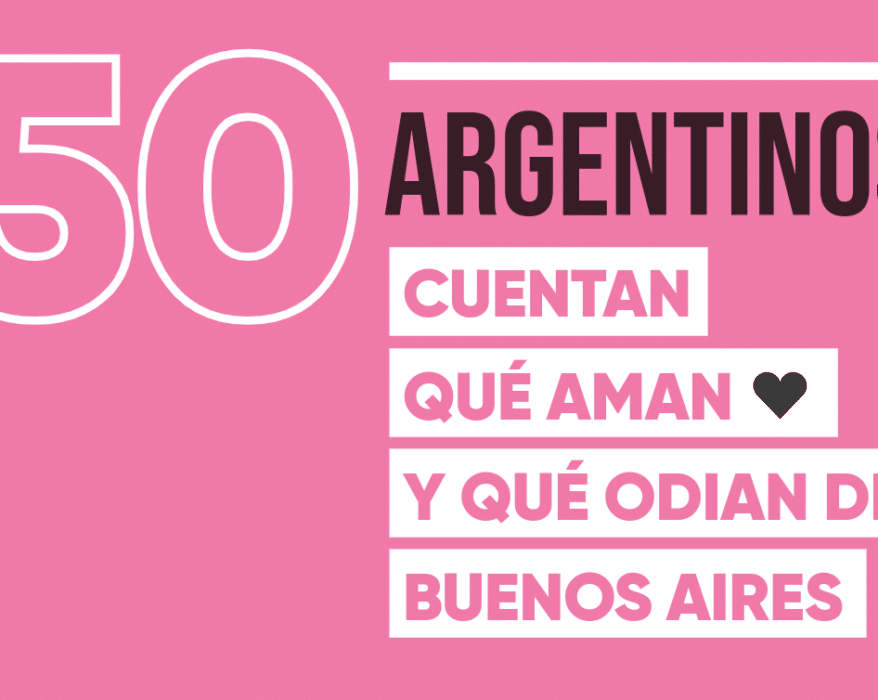 50 argentinos dicen