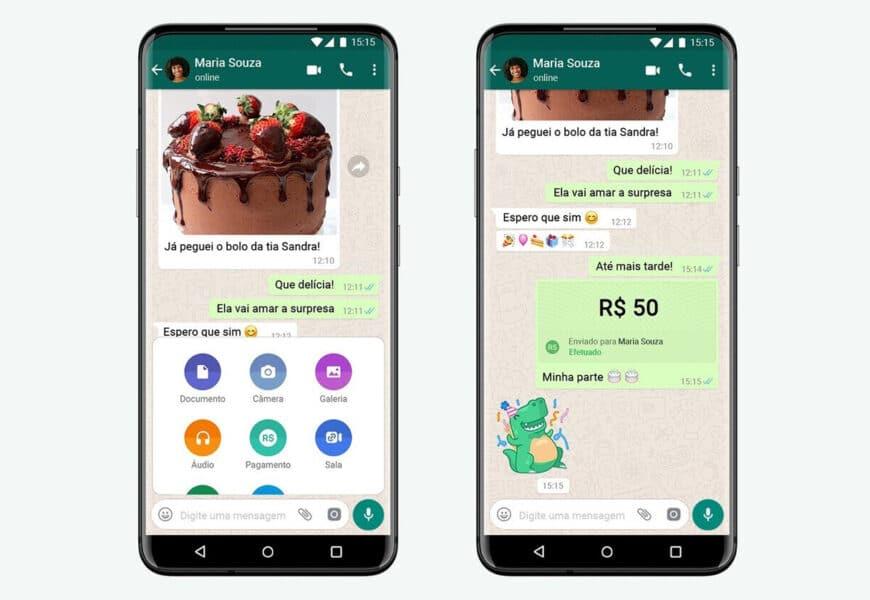 Brasil permite WhatsApp Pay
