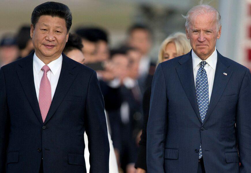 biden y Xi Jinping